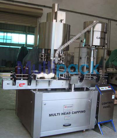 Automatic Four Head Ropp Cap Sealing Machine – 100R GMP Model