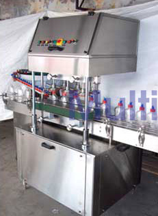 Automatic Linear Screw Capping Machine – 150LS GMP Model