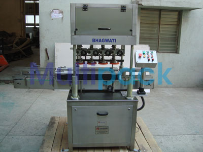 Automatic Linear Screw Capping Machine – 100LS GMP Model