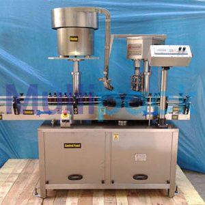Automatic Single Head Ropp Cap Sealing Machine – 60R GMP Model
