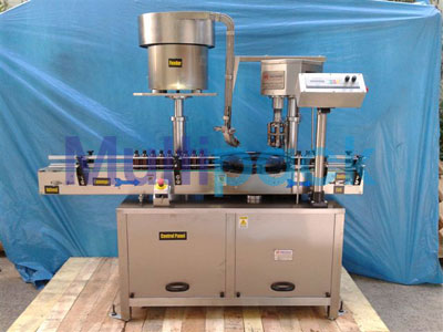 Automatic Single Head Ropp Cap Sealing Machine – 60R GMP Model
