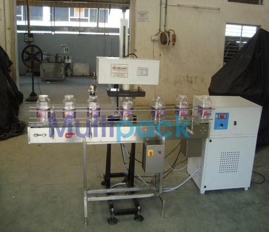 Online Induction Cap Sealing Machine
