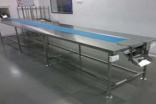 Turn Table and Packing Conveyor