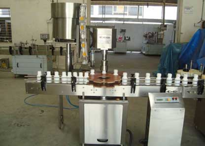 Automatic Single Head Screw Capping Machine GMP Model