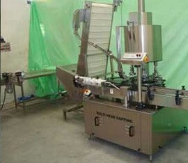 Semi automaic screw capping machine